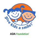 ADA foundation logo for Give Kids A Smile program.
