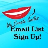 Email List Sign Up Thumbnail for our dental newsletter